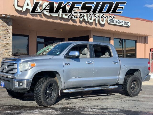 2014 Toyota Tundra Limited 5.7L FFV CrewMax 4WD Colorado Springs CO