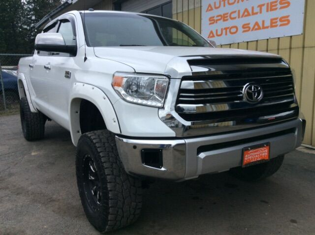 2014 Toyota Tundra Platinum CrewMax 5.7L 4WD Spokane WA