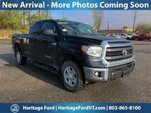 2014 Toyota Tundra SR5 Double Cab 5.7L V8 6-Spd AT South Burlington VT