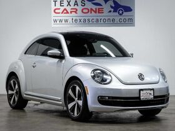 2014_Volkswagen_Beetle_2.0T TURBO NAVIGATION SUNROOF LEATHER HEATED SEATS KEYLESS START_ Addison TX