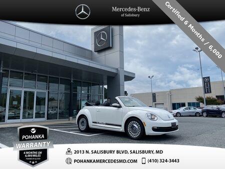 2014_Volkswagen_Beetle_2.5L Convertible ** Certified 6 Months / 6,000  **_ Salisbury MD