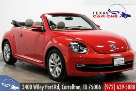 2014_Volkswagen_Beetle Convertible_2.0L TDI AUTOMATIC NAVIGATION FENDER SOUND LEATHER HEATED SEATS_ Carrollton TX