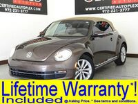Volkswagen Beetle Convertible CONVERTIBLE TDI NAVIGATION HEATED LEATHER SEATS BLUETOOTH KEYLESS GO FENDER 2014