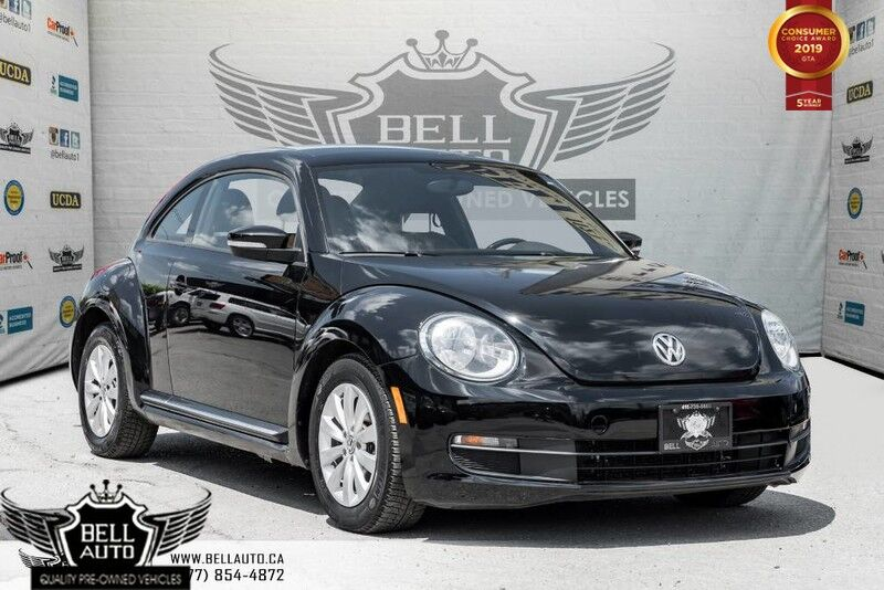 2014 Volkswagen Beetle Coupe 1.8T, SUNROOF, BLUETOOTH, HEATED SEAT