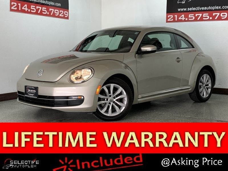 2014 Volkswagen Beetle Coupe 2.0L TDI, LEATHER SEATS, HEATED FRONT SEATS Carrollton TX