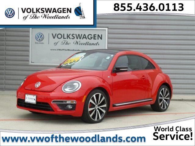 2014 Volkswagen Beetle Coupe 2.0T Turbo R-Line w/Sun/Sound/Nav The Woodlands TX