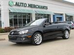 2014 Volkswagen Eos Komfort NAV, HTD SEATS, BLUETOOTH, SAT RADIO, AUX INPUT, LEATHER, HARD TOP CONV