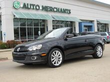 2014_Volkswagen_Eos_Komfort NAV, HTD SEATS, BLUETOOTH, SAT RADIO, AUX INPUT, LEATHER, HARD TOP CONV_ Plano TX