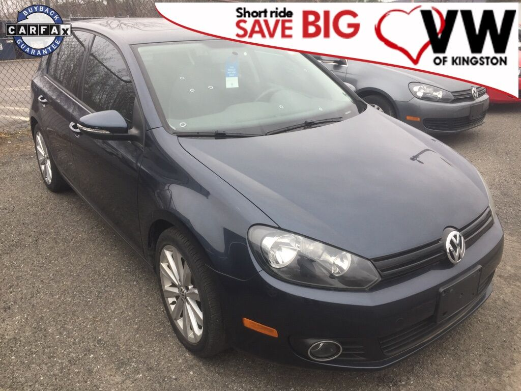 2014_Volkswagen_Golf_TDI_ Kingston NY