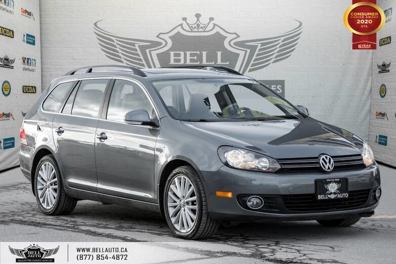 2014 Volkswagen Golf Wagon Wolfsburg Edition, NO ACCIDENT, DIESEL, NAVI Toronto ON