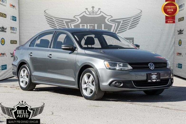 2014 Volkswagen Jetta Comfortline TDI DIESEL, SUNROOF, HEATED SEATS Toronto ON