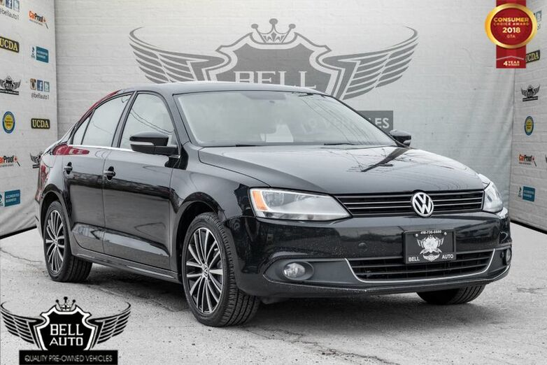 2014 Volkswagen Jetta HIGHLINE DIESEL TDI BACK-UP CAM LEATHER SUNROOF Toronto ON