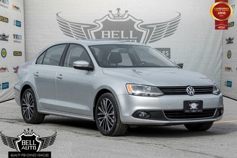2014 Volkswagen Jetta HIGHLINE DIESEL TDI BACK-UP CAMERA LEATHER INTERIOR SUNROOF Toronto ON