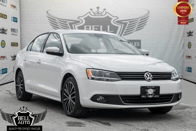 2014 Volkswagen Jetta HIGHLINE TDI NAVI BACK-UP CAM SUNROOF LEATHER Toronto ON