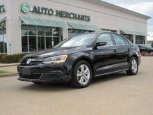 2014_Volkswagen_Jetta_HYBRID SEL LEATHER, SUNROOF, BACKUP CAM, HTD FRONT STS, KEYLESS START, BLUETOOTH_ Plano TX