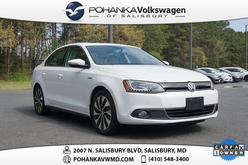 2014_Volkswagen_Jetta Hybrid_SEL ** LEATHER SUNROOF NAVI **_ Salisbury MD