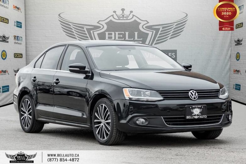 2014 Volkswagen Jetta Sedan Highline, NO ACCIDENT, DIESEL, SUNROOF, LEATHER Toronto ON