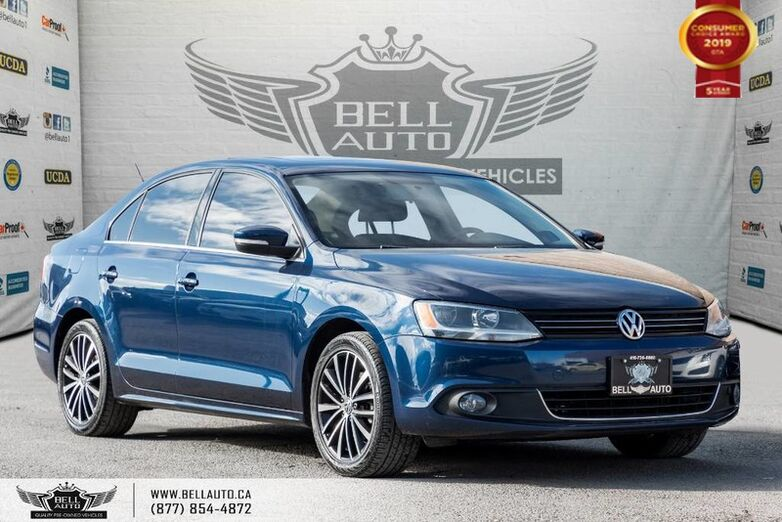 2014 Volkswagen Jetta Sedan Highline, NO ACCIDENT, NAVI, REAR CAM, SUNROOF, PUSH START Toronto ON
