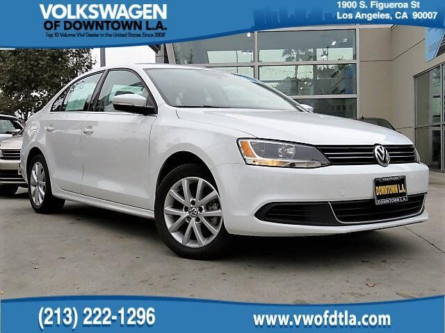 2014 Volkswagen Jetta Sedan SE w/Connectivity Los Angeles CA