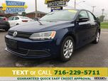 2014 Volkswagen Jetta Sedan SE w/Leather & Moonroof