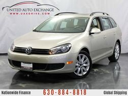 2014_Volkswagen_Jetta SportWagen_TDI w/Sunroof With manual transmission_ Addison IL