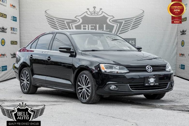 2014 Volkswagen Jetta TDI HIGHLINE DIESEL NAVI LEATHER SUNROOF BACK-UP CAM Toronto ON