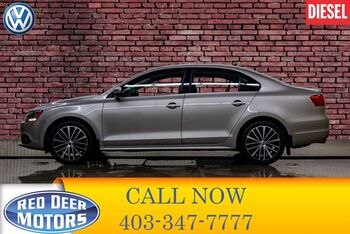 2014_Volkswagen_Jetta_TDI Highline Diesel Leather Roof_ Red Deer AB