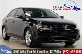2014_Volkswagen_Jetta_TDI LEATHER SEATS HEATED SEATS LEATHER STEERING WHEEL HEATED MIRRORS AUX IN_ Carrollton TX