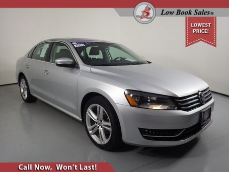 2014_Volkswagen_PASSAT_TDI SE w/Sunroof_ Salt Lake City UT