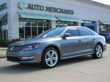 2014_Volkswagen_Passat_1.8T SEL Premium AT PZEV NAV, SUNROOF, HTD SEATS, BLUETOOTH, SAT RADIO, LEATHER, AUX INPUT, CD_ Plano TX