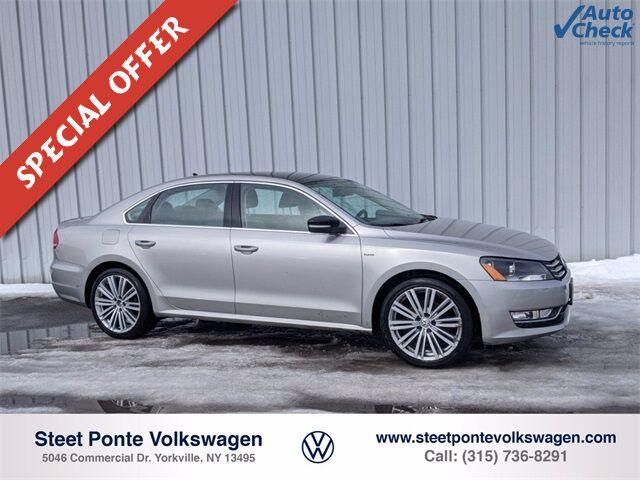 2014 Volkswagen Passat 1.8T Sport Yorkville NY