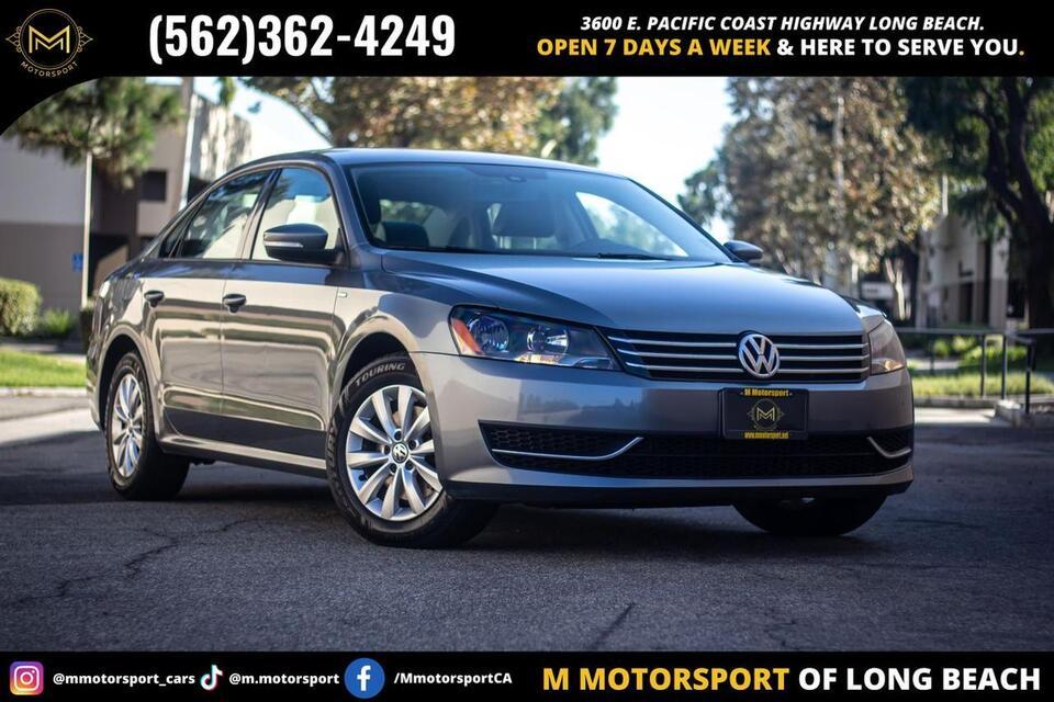 2014_Volkswagen_Passat_1.8T Wolfsburg Edition Sedan 4D_ Long Beach CA