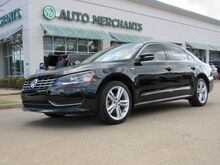 2014_Volkswagen_Passat_2.0L 4CYL DIESEL, LEATHER, SUNROOF, HEATED FRONT STS, SEAT MEMORY, BLUETOOTH, LEATHER STEERING WHEEL_ Plano TX