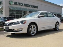2014_Volkswagen_Passat_2.0L TDI SEL Premium LEATHER, NAVIGATION, SUNROOF, HTD FRONT STS, SEAT MEMORY, BLUETOOTH, CD PLAYER_ Plano TX