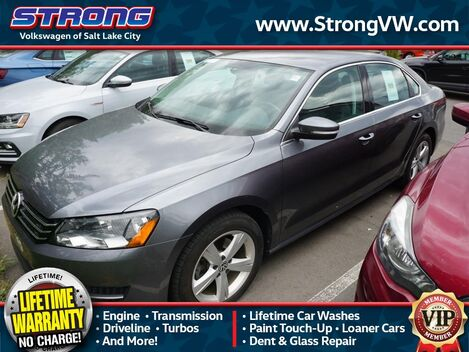 2014_Volkswagen_Passat_SE_ Salt Lake City UT