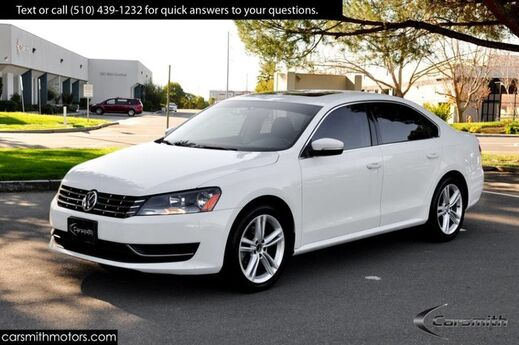 2014 Volkswagen Passat SE White/Black Fully Serviced Extra Clean! Fremont CA