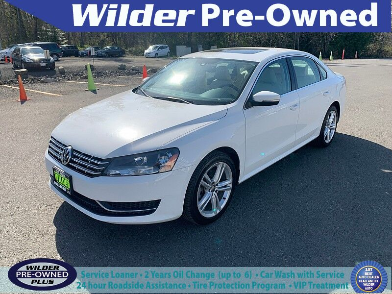 2014 Volkswagen Passat TDI 4d Sedan SE w/Sunroof Port Angeles WA