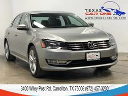 2014_Volkswagen_Passat_TDI SE AUTOMATIC NAVIGATION SUNROOF LEATHER HEATED SEATS BLUETOO_ Carrollton TX