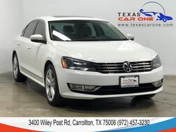 2014_Volkswagen_Passat_TDI SE AUTOMATIC NAVIGATION SUNROOF LEATHER HEATED SEATS REAR CA_ Carrollton TX