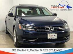 2014_Volkswagen_Passat_TDI SE AUTOMATIC SUNROOF LEATHER HEATED SEATS REAR CAMERA BLUETO_ Carrollton TX