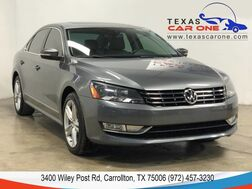 2014_Volkswagen_Passat_TDI SEL PREMIUM AUTOMATIC NAVIGATION SUNROOF LEATHER HEATED SEAT_ Carrollton TX