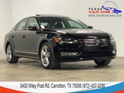 2014_Volkswagen_Passat_TDI SEL PREMIUM AUTOMATIC NAVIGATION SUNROOF LEATHER HEATED SEATS REAR CAMERA_ Carrollton TX