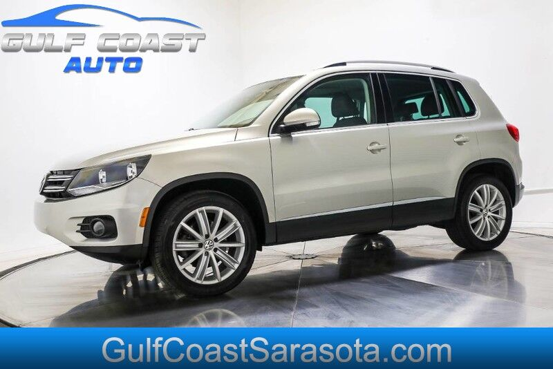 2014 Volkswagen TIGUAN SE LEATHER LOW MILES SERVICED COLD AC L@@K Sarasota FL