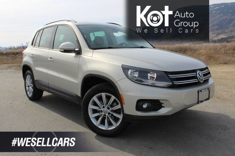 2014 Volkswagen Tiguan Comfortline, NO ACCIDENTS, Panoramic Sunroof Kelowna BC