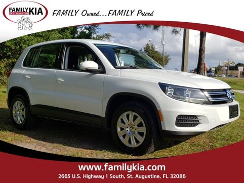 2014_Volkswagen_Tiguan_S_ St. Augustine FL
