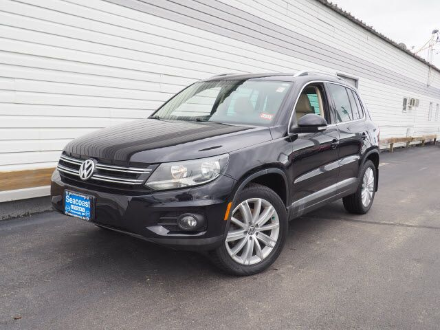 2014 Volkswagen Tiguan SEL 4Motion Portsmouth NH