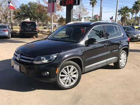 2014 Volkswagen Tiguan SEL Houston TX