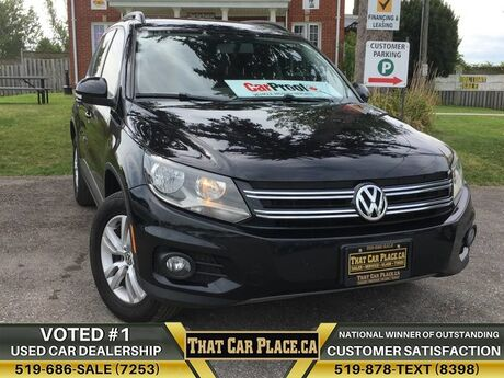 2014 Volkswagen Tiguan Trendline$67/Wk4MotionHtd SeatsBluetoothUSB/AUX London ON