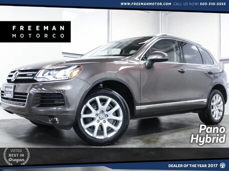 2014_Volkswagen_Touareg_4MOTION 3.0L Hybrid Pano Area View Cam_ Portland OR