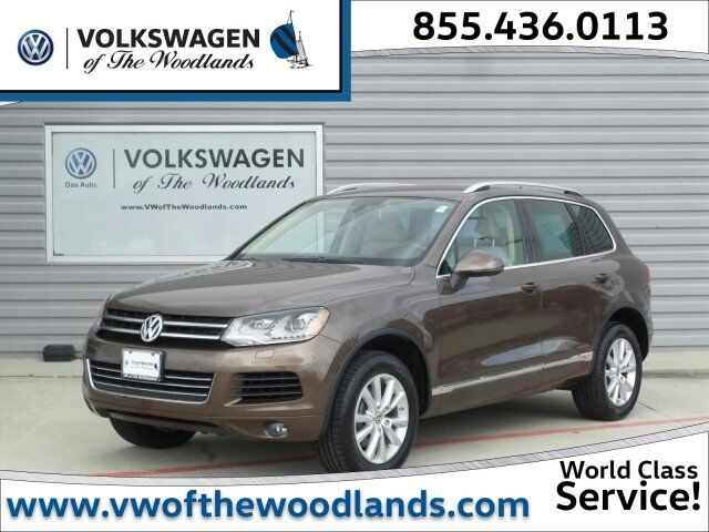 2014 Volkswagen Touareg Sport The Woodlands TX